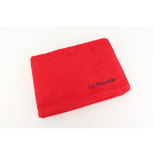 Ręcznik US Polo Bath Red, 70x140 cm