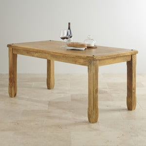Stół z mahoniu Massive Home Patna, 140x90 cm