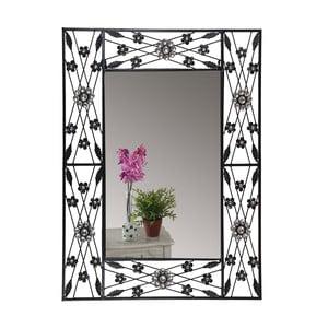Lustro ścienne Baroque Flower, 80x60 cm