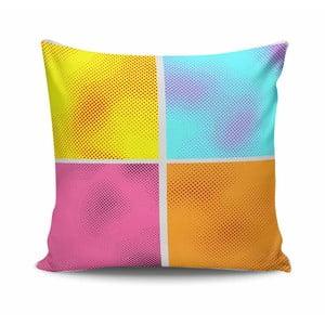 Poduszka z wypełnieniem Colors no. 1, 45x45 cm