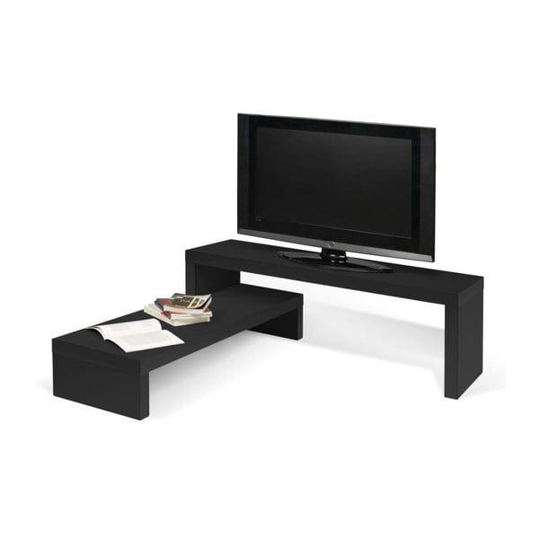 Wielofunkcyjny stolik telewizyjny Cliff Black