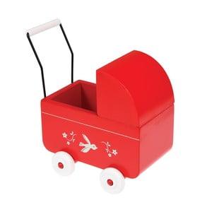 Wózek drewniany do zabawy Rex London Pram