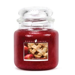 Świeczka zapachowa w szklanym pojemniku Goose Creek Aromat jabłkowy, 0,45 kg