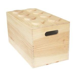 Pudełko Wood Lego, 52x27x27 cm