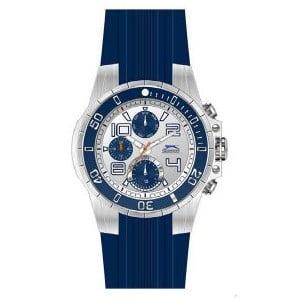 Zegarek męski Slazenger Silver-Blue