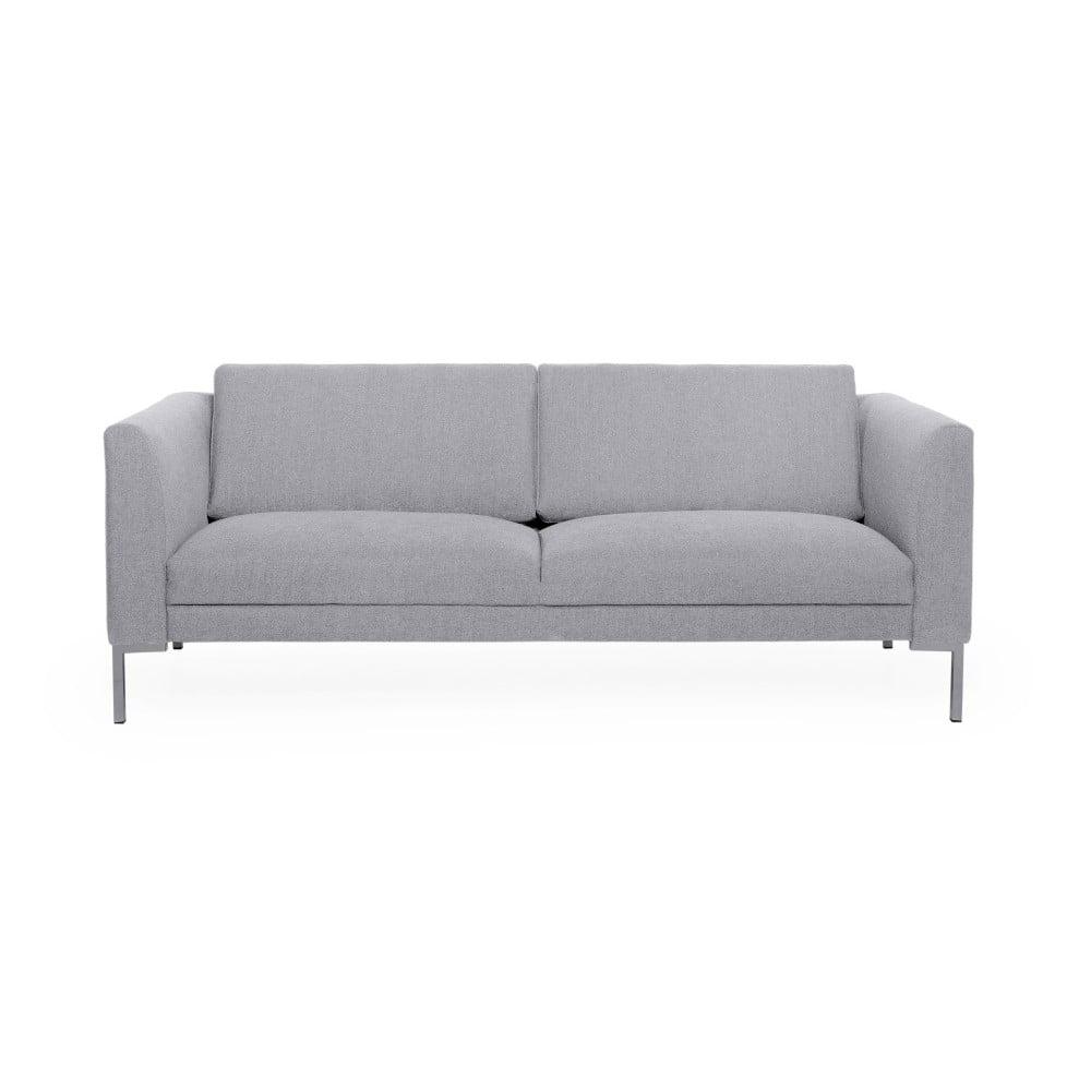 Jasnoszara sofa 3-osobowa Softnord Kery