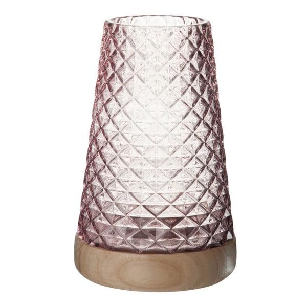 Szklany   lampion Mauvel, wysokość 27 cm