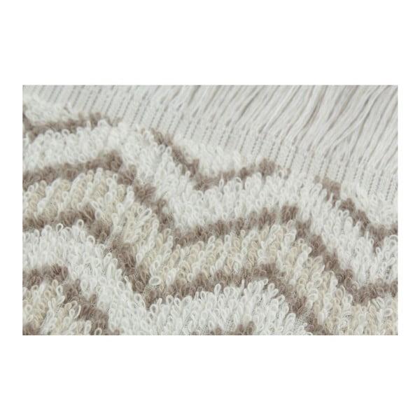 Komplet 2 ręczników Zig Zag Beige, 70x140 cm