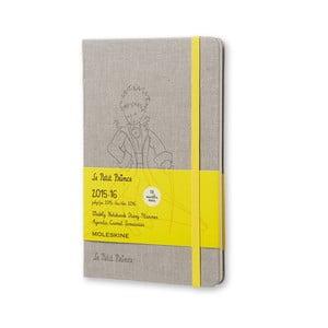 Notatnik tygodniowy  Moleskine Le Petit Prince, 13x21 cm