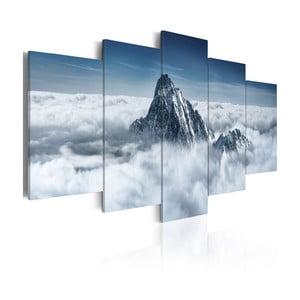 Wieloczęściowy obraz na płótnie Bimago Peak, 100x200cm