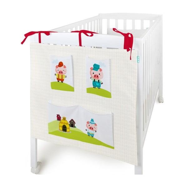 Organizer na dziecięce łóżeczko Little Pigs