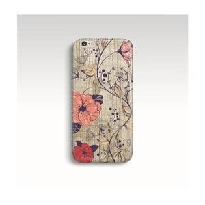 Etui na telefon Wood Floral na iPhone 6/6S