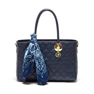 Skórzana torebka Carla Ferreri 2003 Blu