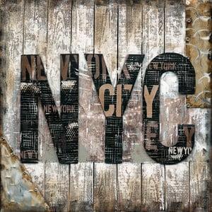 Obraz malowany ręcznie Eurographics NYC