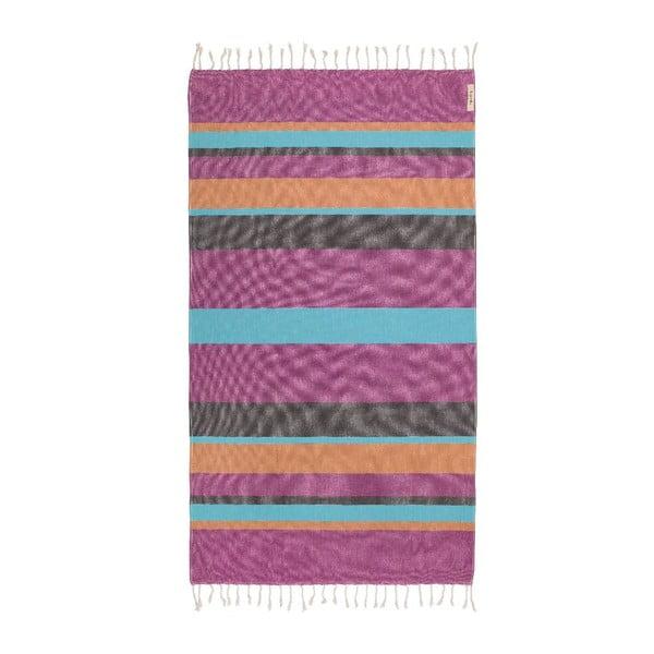 Ręcznik hammam Myra Colorful III, 95x175 cm