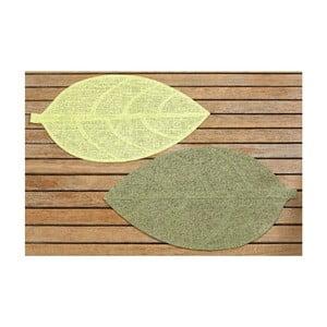 Komplet 2 nakryć Leaf