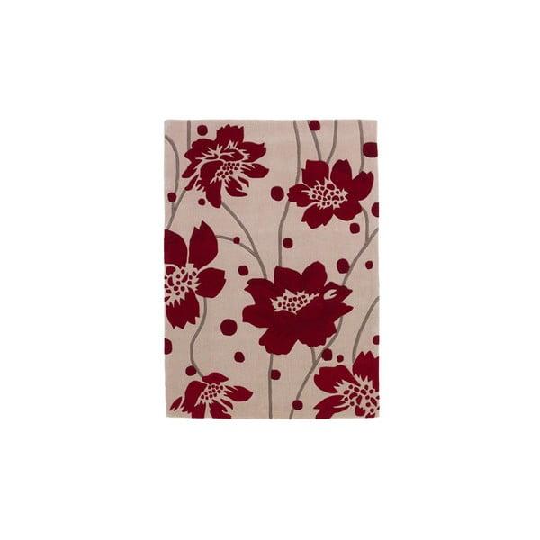 Dywan Hongkong Beige Red, 60x120 cm