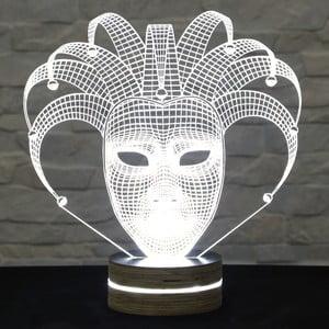 Lampa 3D stołowa Glam Mask