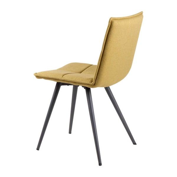 Zestaw 4 zielonych krzeseł sømcasa Zoe