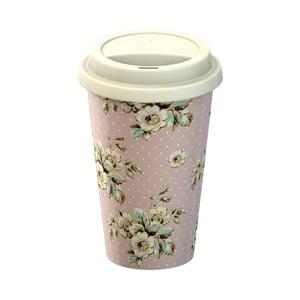 Porcelanowy kubek podróżny Creative Tops Cottage Flowers, 260ml