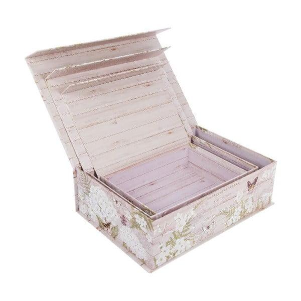 Zestaw 3 pudełek Scato
