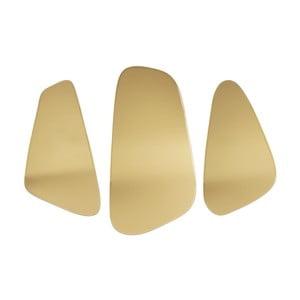 Zestaw 3 luster w złotym kolorze PT LIVING Out of Balance
