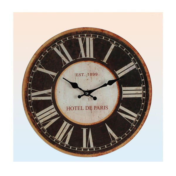 Zegar ścienny Hotel de Paris