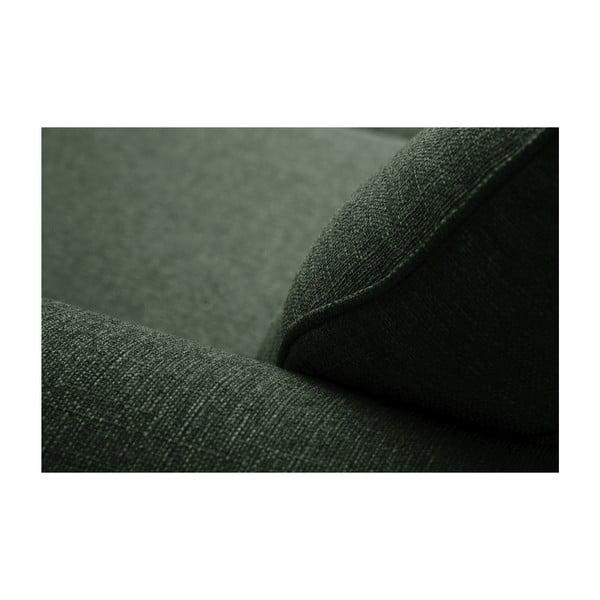 Ciemnozielona rozkładana sofa 2-osobowa Jalouse Maison Ivy