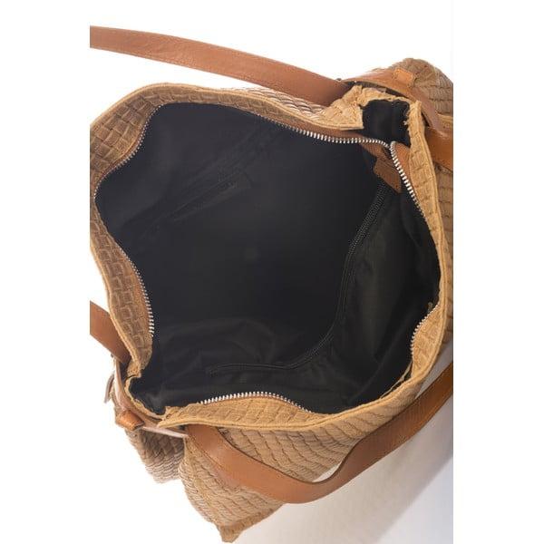 Koniakowa torebka skórzana Markese Hela