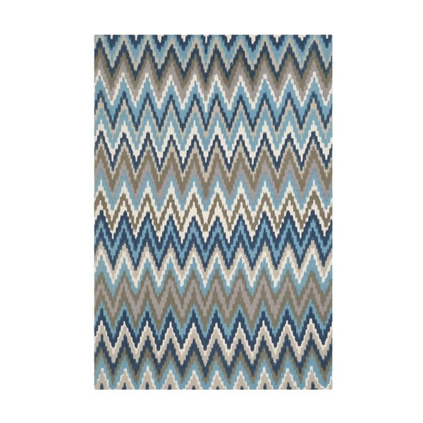 Dywan Lojento 152x243 cm, niebieski