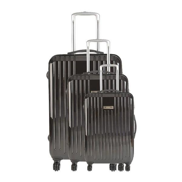 Zestaw 3 walizek podróżnych Majestik Stripes