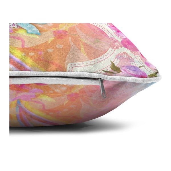 Aksamitna poduszka Dreamhouse So Cute Lizzy, 70x70cm