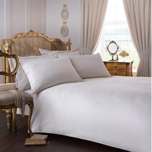Pościel na łóżko jednososbowe Renaissance Cream, 135x200 cm