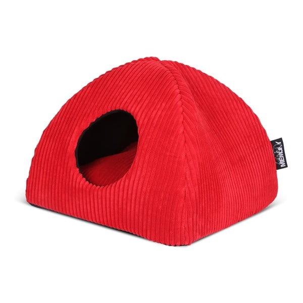 Kocie legowisko Milan Igloo, czerwone