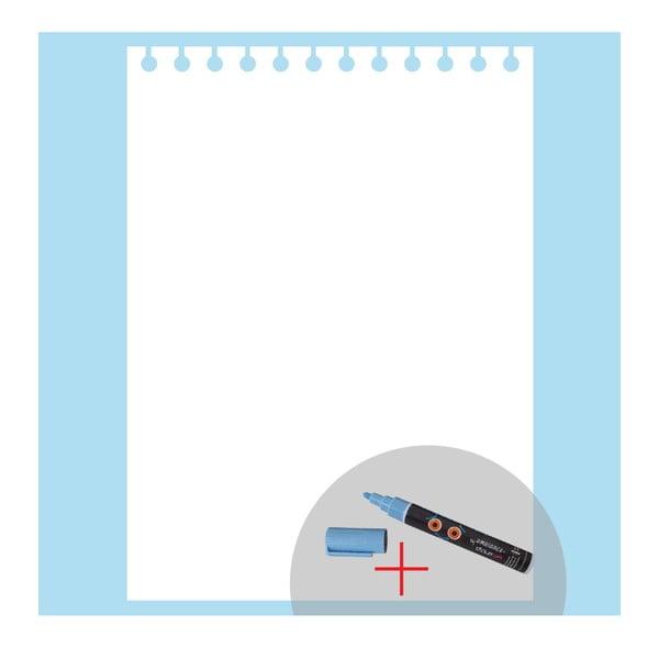 Tablica samoprzylepna z kredowym flamastrem Fanastick Notepaper