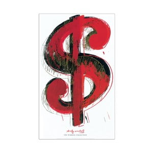 "Andy Warhol ""Dolar"""