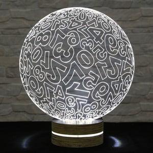 Lampa 3D stołowa Numbers