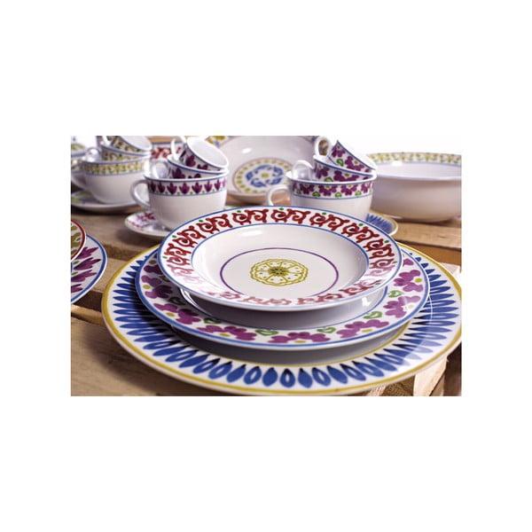 Zestaw 2 filiżanek z podstawkami Toscana Gimignano, 400 ml