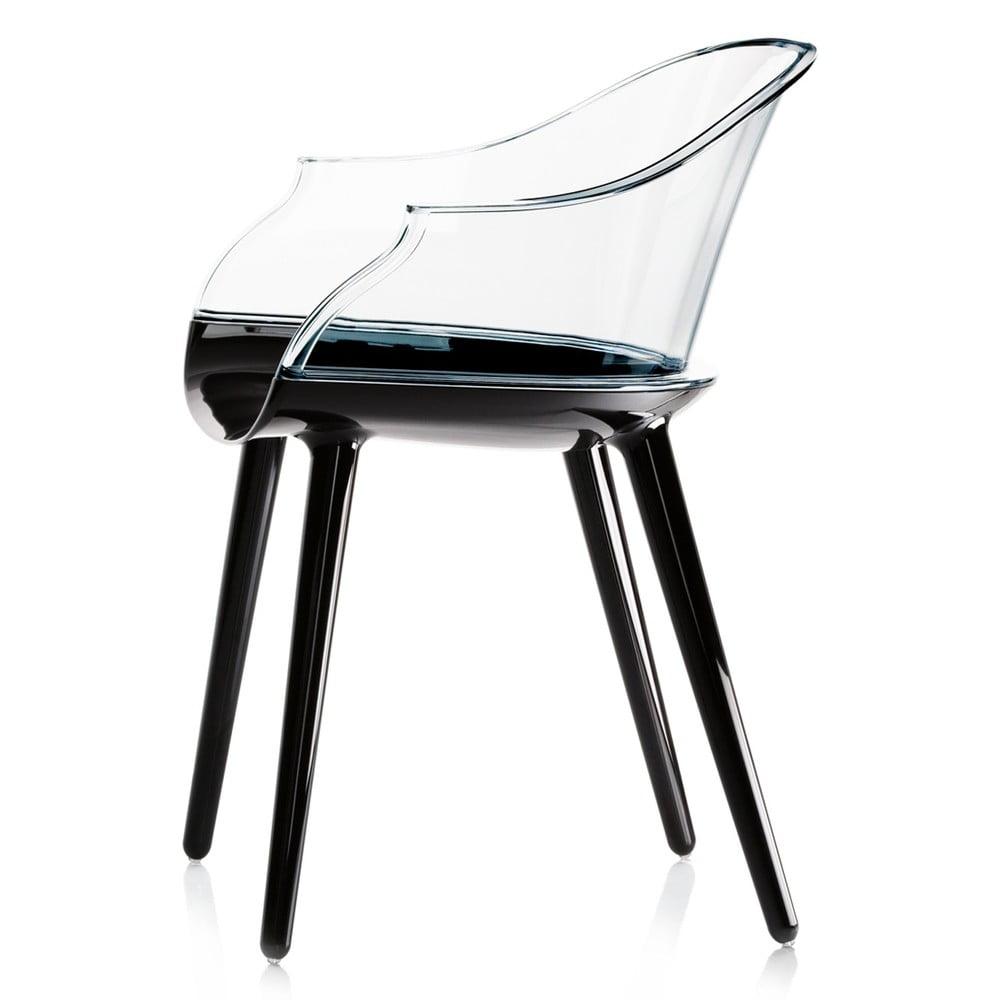 Czarne krzesło Magis Cyborg