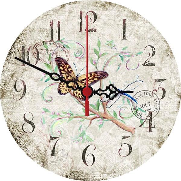 Zegar ścienny Stamp, 30 cm