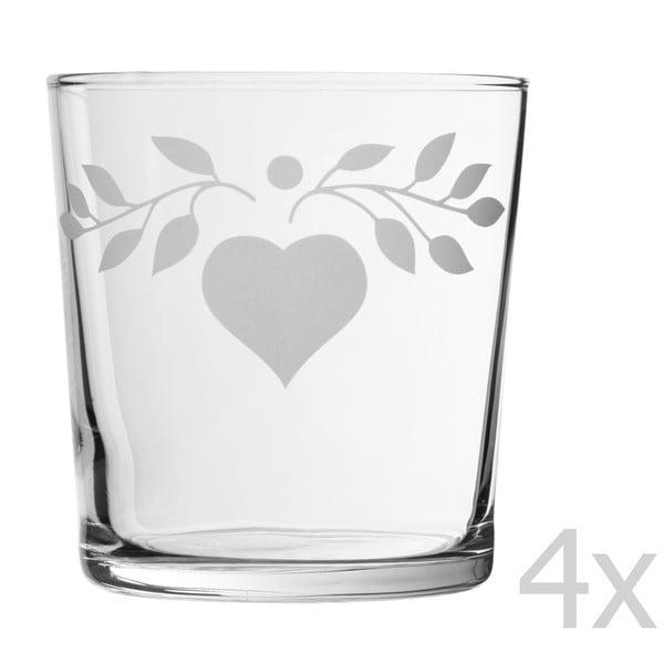 Zestaw 4 szklanek Grelot Bodega, 370 ml