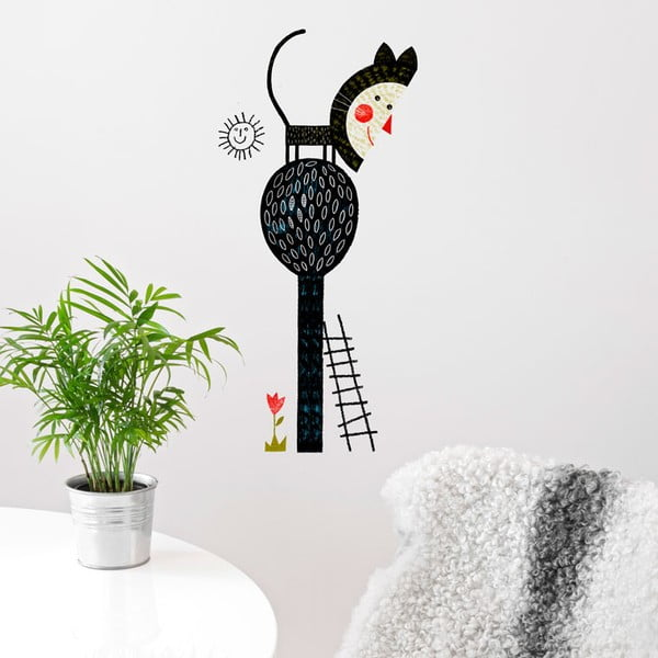 Naklejka Cat Tree, 58x65 cm