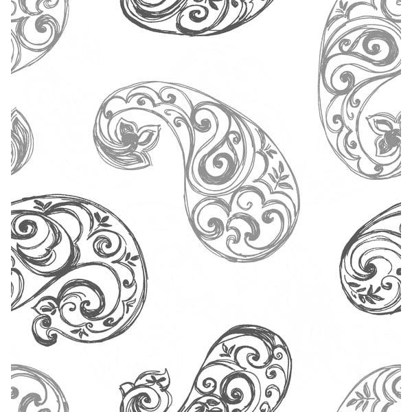 Pościel Paisley Gris, 240x220 cm
