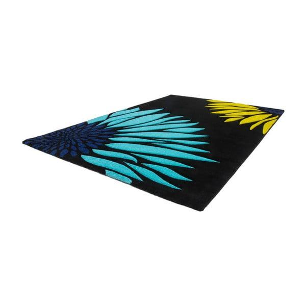Dywan Lifestyle 174 czarny/ niebieski, 80x150 cm