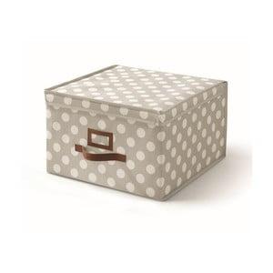 Beżowe pudełko z przykrywką Cosatto Jolie, 40x40 cm