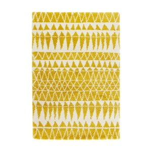 Żółty dywan Mint Rugs Allure Yellow, 80x150 cm