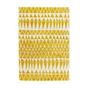 Żółty dywan Mint Rugs Allure Yellow, 80x150cm