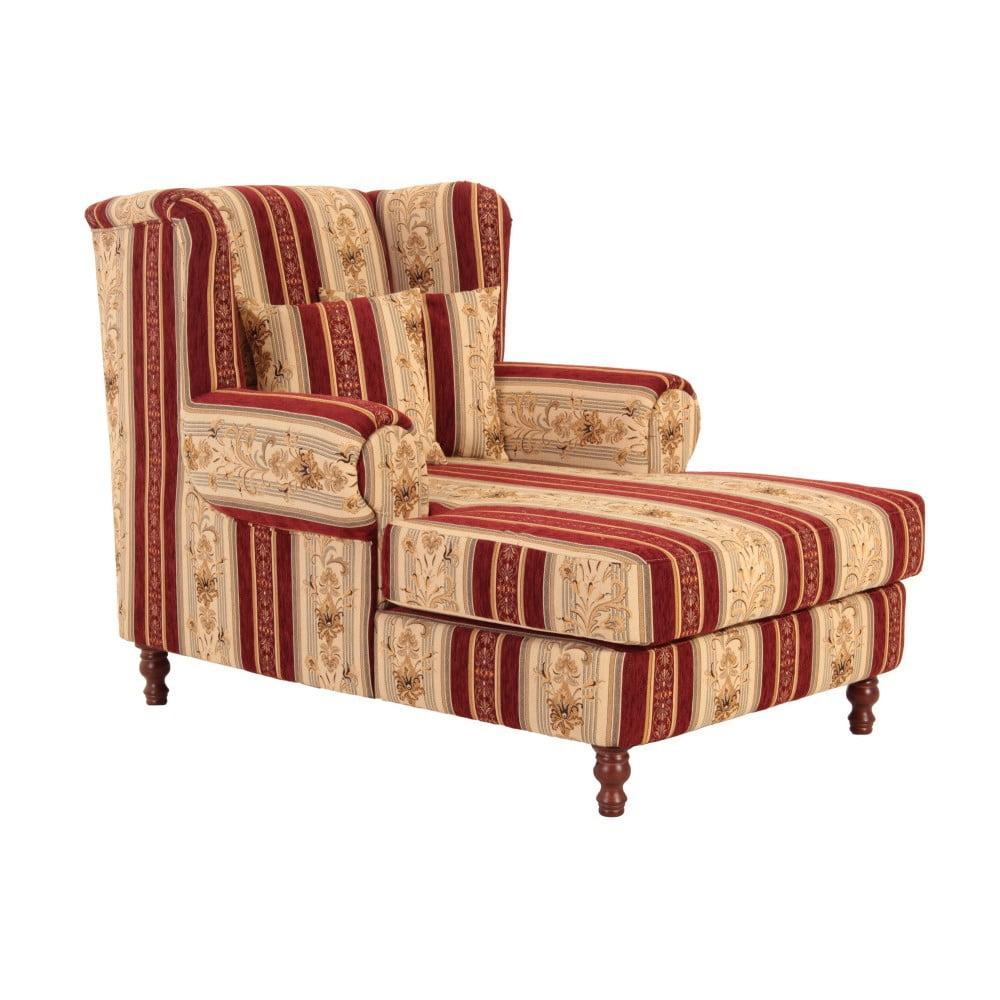 Fotel uszak Max Winzer Mareille Vintage Red