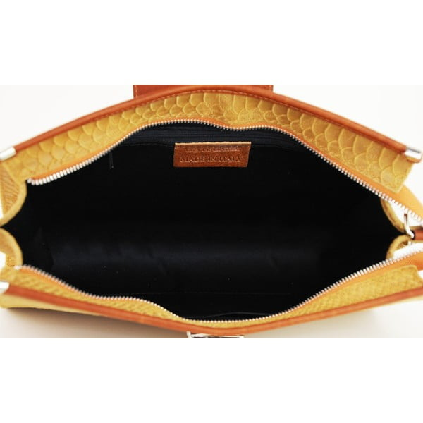 Skórzana torebka Bonnie Cognac