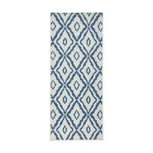 Niebiesko-biały dywan dwustronny Bougari Rio, 80x150 cm